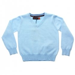 Ben Sherman Boys Jumper In Sky Blue