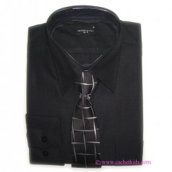 Premium quality boy 3 piece black suit set