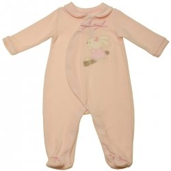 Girandola Baby Girls All In One Pink Romper