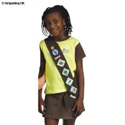 Brownie Standard Badge Sash