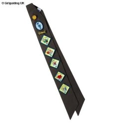 Brownie Extra Long Badge Sash