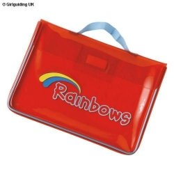 Rainbow Welcome Bag In Red
