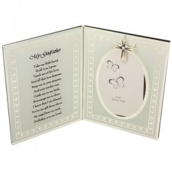 Christening Gift God Fathers Christening Picture Frame