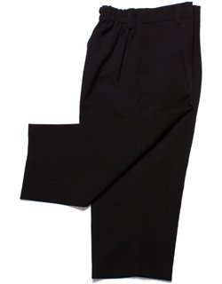 Baby boys black trousers
