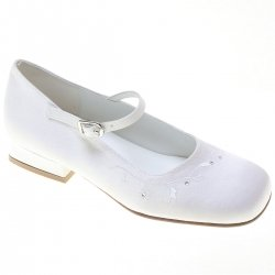 First Holy Communion Girls Shoes With Diamantes