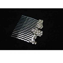 Diamonte Petals Hair Comb