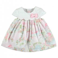 Sale Mayoral Baby Girls Pink Floral Dress