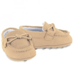 Mayoral Baby Boys Light Camel Moccasin Shoes