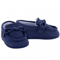 Mayoral Baby Boys Navy Moccasin Shoes