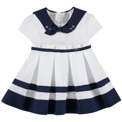 Sale Mayoral Baby Girls Sailor Style Summer Dress