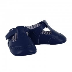 Mayoral Baby Boys Navy T Bar Pram Shoes