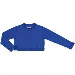 Mayoral Girls Royal Blue Knitted Cardigan