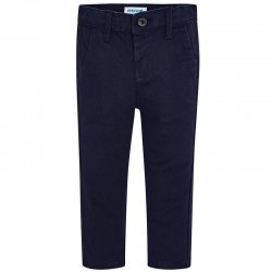 Mayoral Boys Navy Smart Chino Trousers