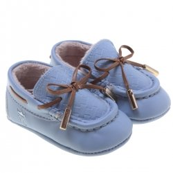 Mayoral Baby Boys Blue Mocassin Shoes