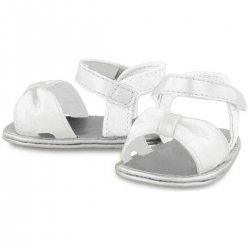 Baby Girls White Sandles By Spanish Mayoral