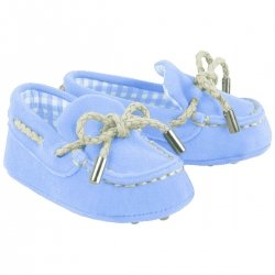 Baby Boys Blue Pram Shoes Moccasins Style by Mayoral