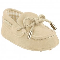 Baby Boys Ivory Moccasins Pram Shoes by Mayoral