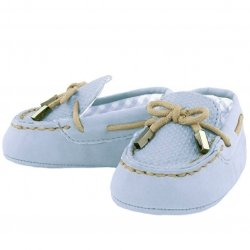 Mayoral Baby Boys Blue Moccasins Pram Shoes