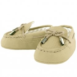 Mayoral Baby Boys Sand Colour Moccasins Pram Shoes