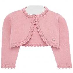 Baby Girls Pink Bolero From Mayoral