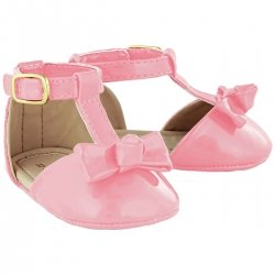 Baby Girls Rose Pink Patent Sandles Shoes