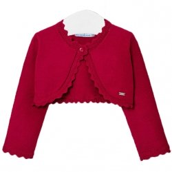 Baby Girls Red Bolero From Mayoral