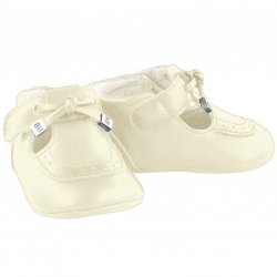 Mayoral Baby Off White Pram Shoes