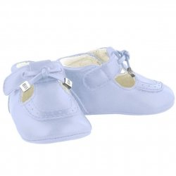 Mayoral Baby Pale Blue Pram Shoes