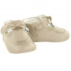 Mayoral Baby Boys Tan or Sand Colour Pram Shoes