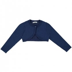 Mayoral Girls Navy Bolero