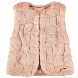 Sale Mayoral Girls Pink Fur Gilet