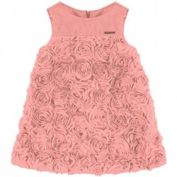 Sale Mayoral Girls Camellia Pink Floral Dress