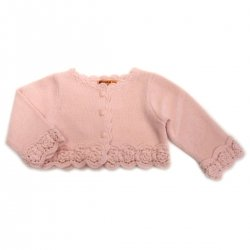 Mayoral baby girls cardigan in pink