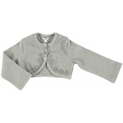 Mayoral Baby Girls Grey Cardigan Bolero