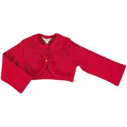 Mayoral Baby Girls Red Bolero Cardigan