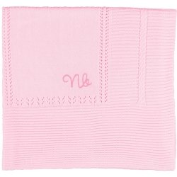 Mayoral Baby Blanket In Pink