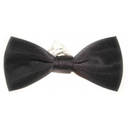 Boys black bow tie 6m To 12yrs