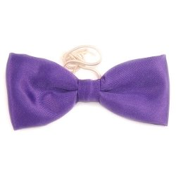Boys purple bow tie 6m To 12yrs