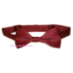Boy bow tie in red wine colour 6m To 12yrs
