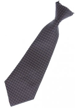Baby boy tie gold diagonal dots