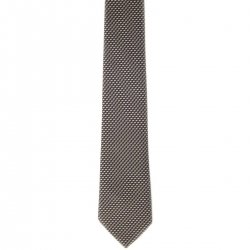 Boy tie gold with black background