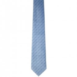 Boy tie blue with circles