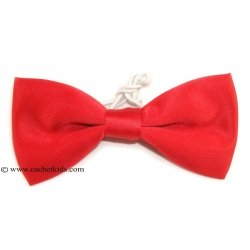 Baby Boys Red Bow Tie 6m To 12yrs