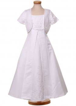 Beautiful First Holy Communion Dress with Bolero