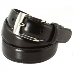 Premium Quality Boys black leather belt