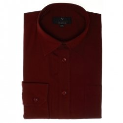 Boys Formal Shirt Boys Maroon Shirt
