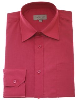 Fuchsia Rose Colour Boys Dress Shirt