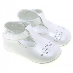 Baby white Leather Shoes