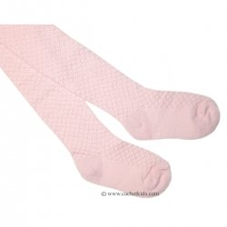 Athens girls tights in pink