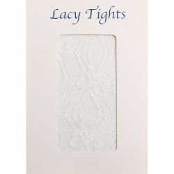 Baby Or Girls white lacy tights